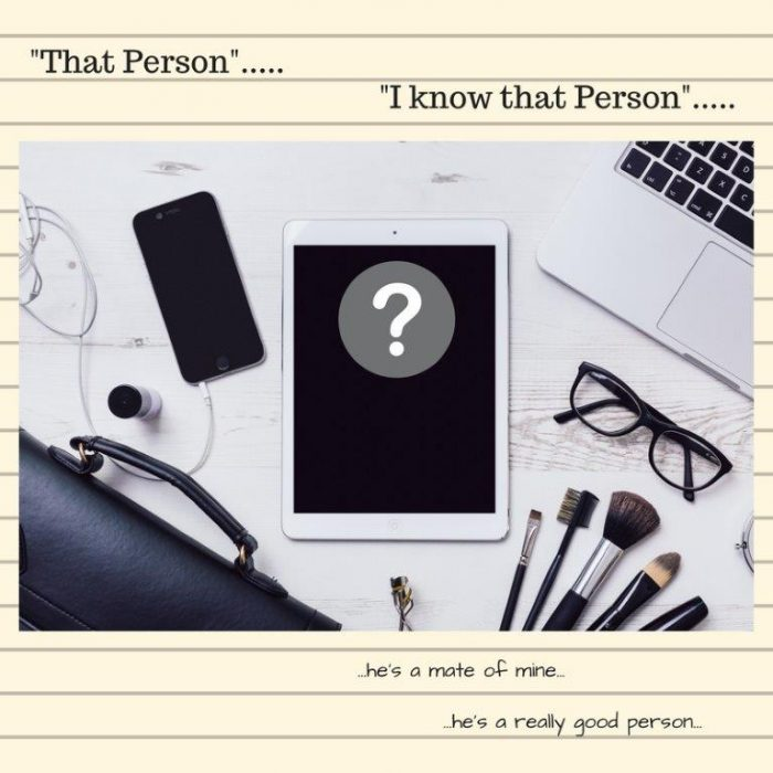 That Person.....